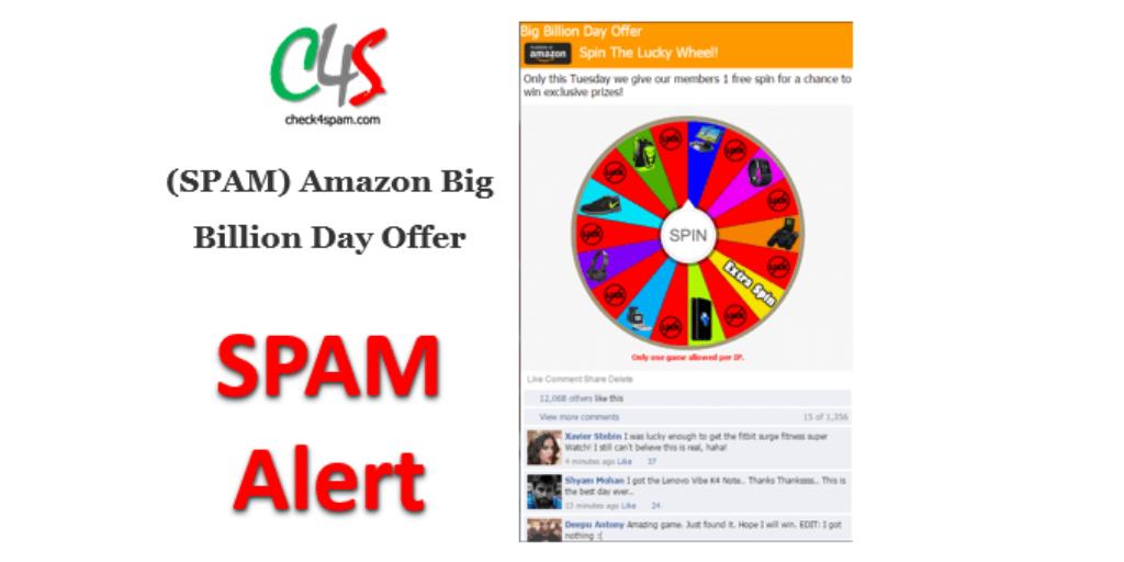 (SPAM) Amazon Big Billion Day Offer amazon.125xc.com