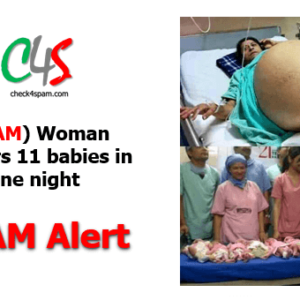 (SPAM) Woman delivers 11 babies