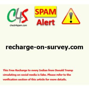 (SPAM) recharge-on-survey.com