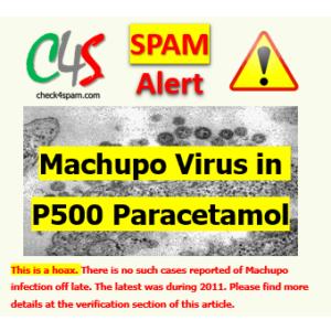 Machupo Virus P500 Paracetamol