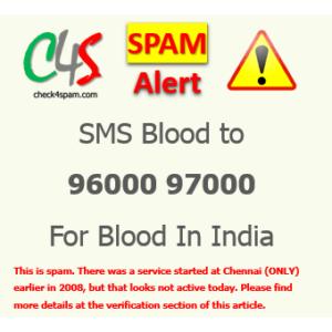 SMS 96000 97000 hoax