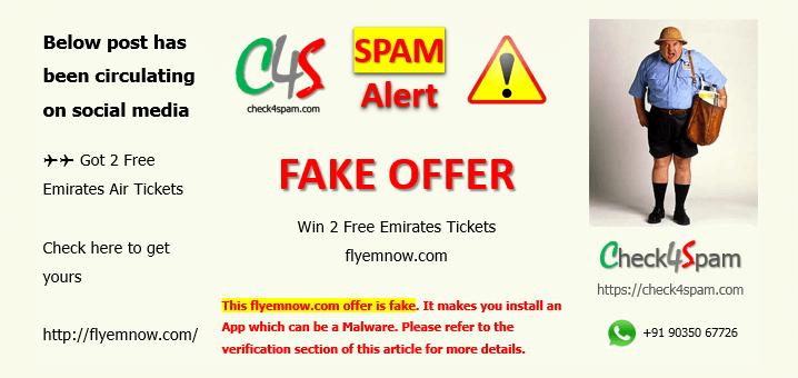 flyemnow.com spam