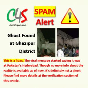 Ghost Ghazipur spam