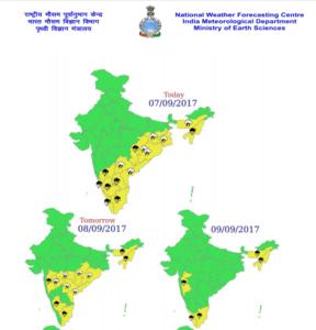 A Major Storm Hitting Bangalore CAFWA Team - Verification